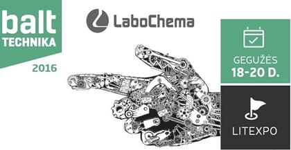 Labochema parodoje BALTTECHNIKA 2016