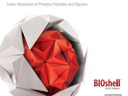 BIOshell™ HPLC kolonėlės biopolimerų atskyrimui