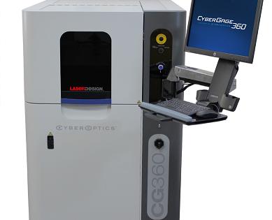 Laser Design 3D skenavimo sistema CyberGage 360 produktų geometrijų matavimui